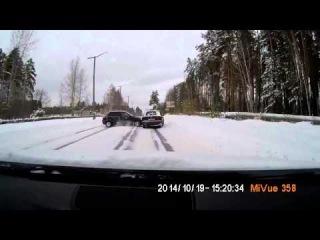 Авария в Снежинске 19 10 2014