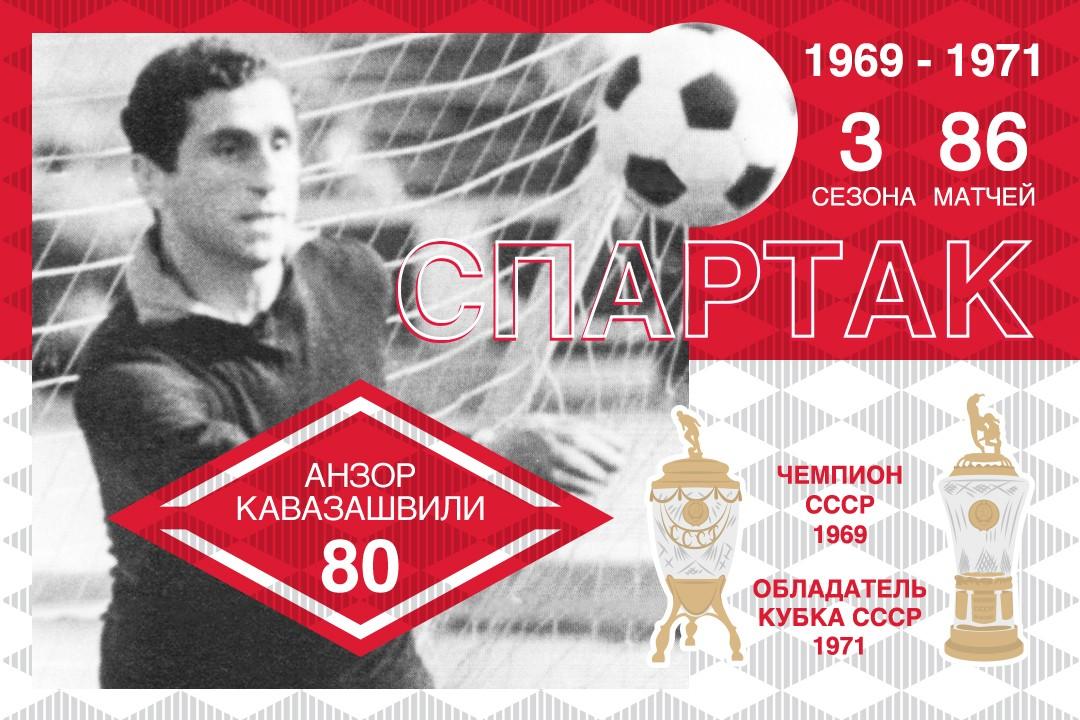 Анзору Кавазашвили – 80!