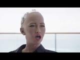 Уилл Смит на свидании с роботом София На Русском