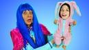 Видео Беби Бон – Принцесса Диснея стала Куклой! Как Мама для Baby Born! – Игры одевалки для девочек.