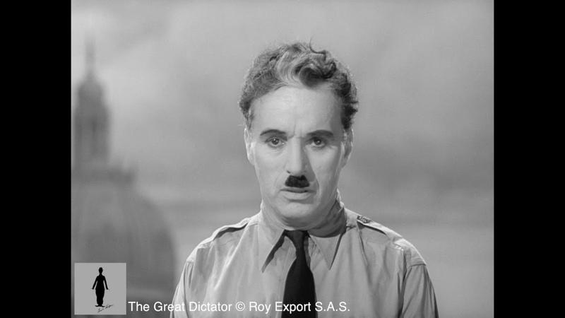 Charlie Chaplin Die Rede aus dem Film Der große Diktator Deutsch