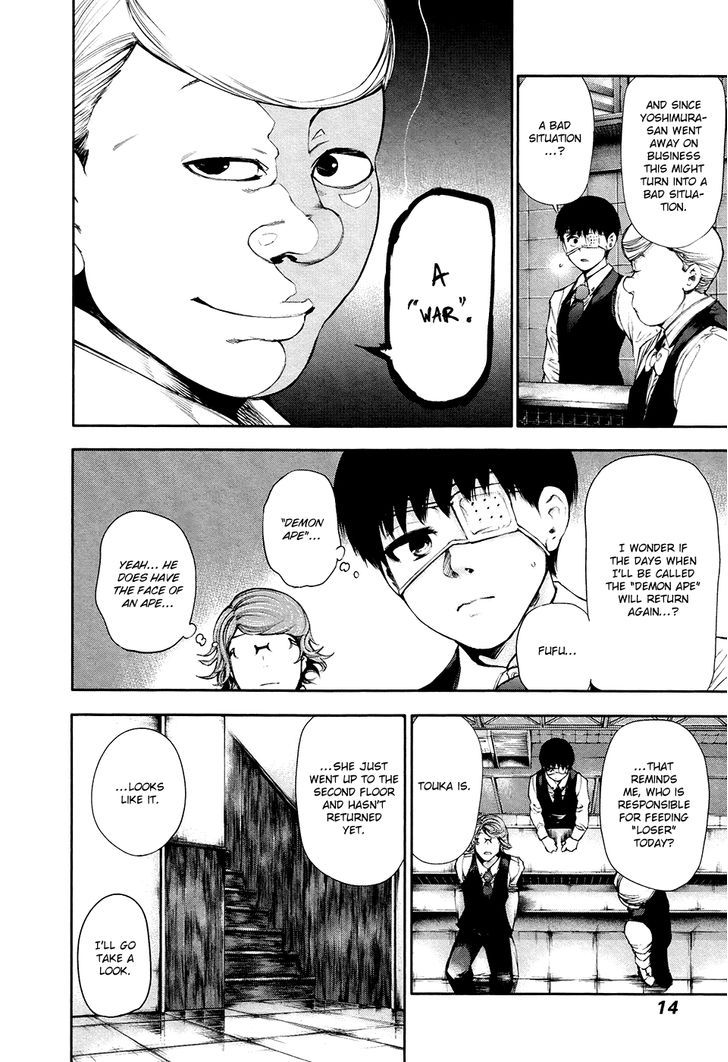 Tokyo Ghoul, Vol.6 Chapter 49 Caged Bird, image #12