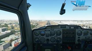 Flight Simulator 2020   IMPRESSIVE flight in Mumbai with trackIR in 4K