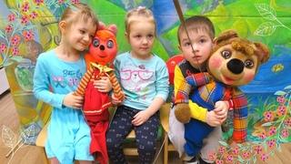 🐰 Кукольный спектакль - Зайкина лужайка в детском саду «Планета детства» г. Железнодорожный