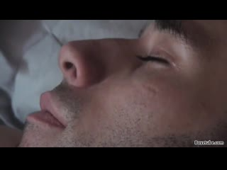 Sleeping uncut Sam molested and jerked off