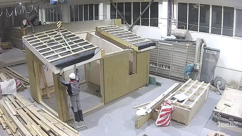 Производство каркасно панельных домов Prefabricated house ООО Ляховичидрев Экспорт