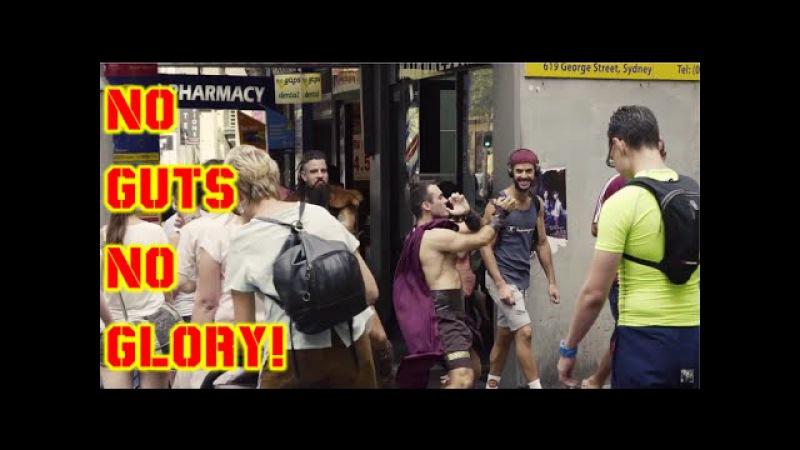 No Guts No Glory Defqon 1 Hits The Streets Slenderman Ft Hektik Hektor