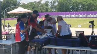 Бурятская лучница Светлана Гомбоева потеряла сознание на Олимпиаде в Токио