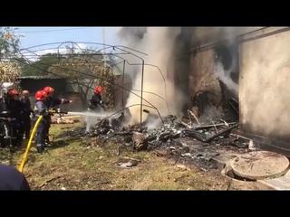 На Прикарпатті впав легкомоторний спортивний літак - загинув пілот Ігор Табанюк і троє іноземців