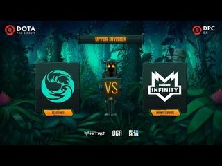 beastcoast vs Infinity Esports, OGA DPC SA Season 2, bo3, game 2 [Maelstorm & Lazar']