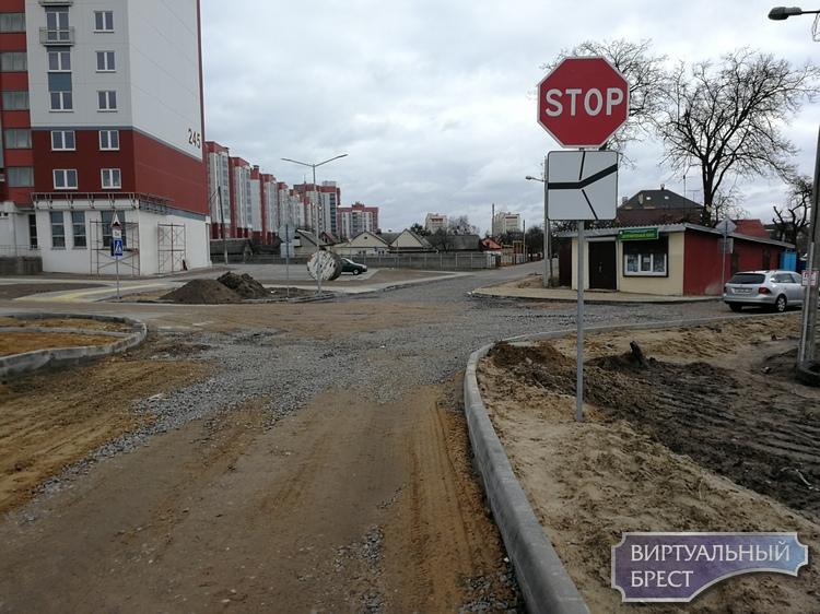 С 1 по 27 марта закрывают движение на перекрёстке ул. Речная, Крушинская, Богданчука