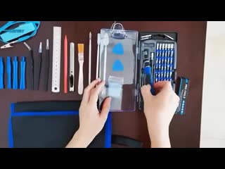 Набор инструментов для разборки ноутбуков, смартфонов и другой электроники