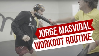 Jorge 'Gamebred' Masvidal Workout Routine | Training World