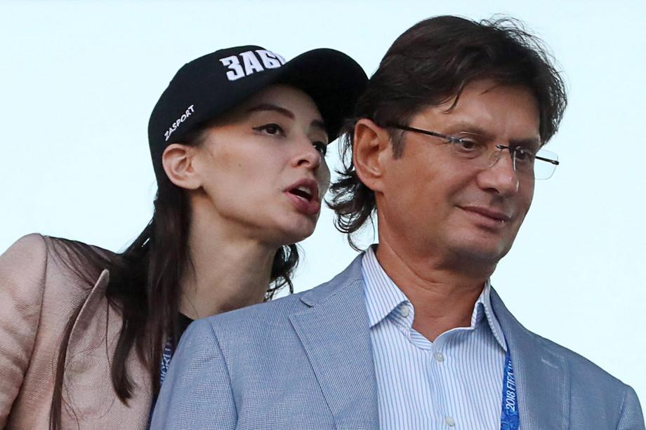 Зарема Салихова и Леонид Федун