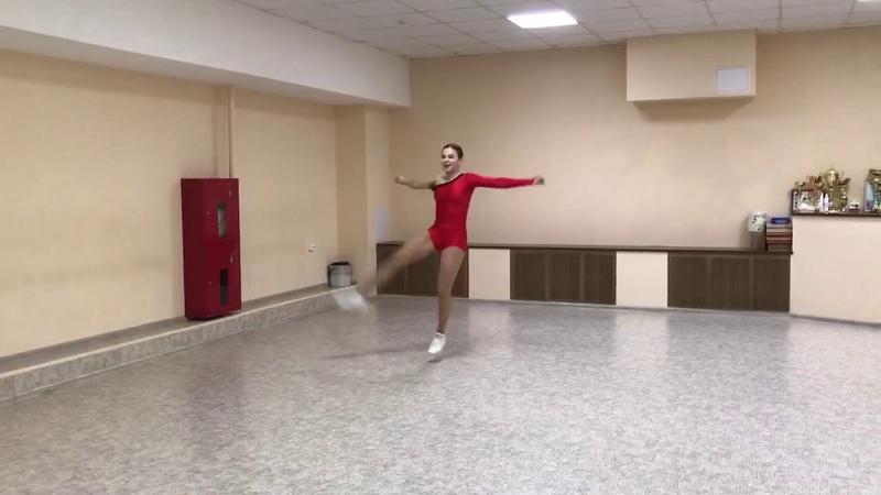 2 место Агуреева Александра Соло Зал 14 16 лет