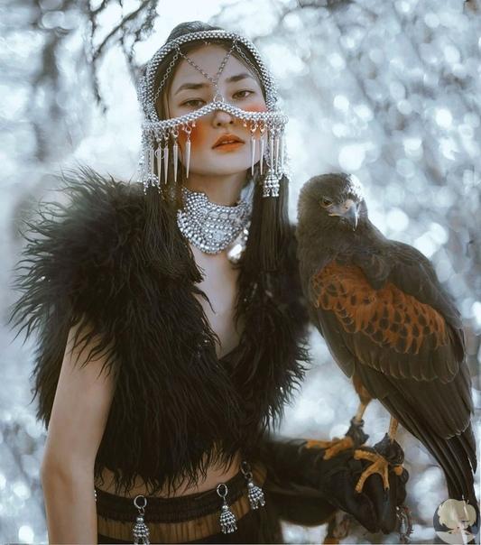 Фотограф Lillian Liu. Мифологические образы и трагические истории