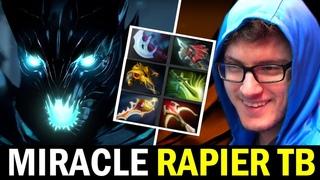 MIRACLE vs KHEZU — Divine Rapier Terrorblade Hard Game Dota 2