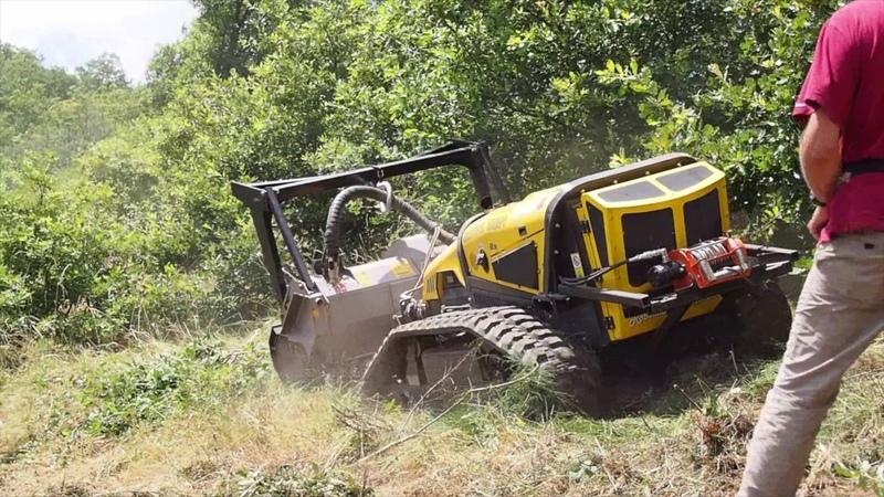 RoboMAX Broyeur Forestier Dario Dev