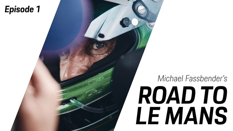 Michael Fassbender Road to Le Mans season 2 episode 1 the road to Le Mans continues
