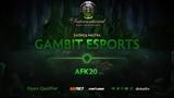 Gambit Esports против afk20, Третья карта, Открытая СНГ квалификация к TI8