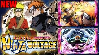 НАРУТО И ПЕЙН 7* ГЕРОИ 🔥 ОБНОВЛЕНИЕ! ► Naruto x Boruto Ninja Voltage