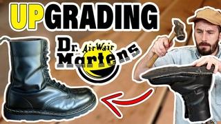Dr. Martens Resole -(MAKING DOCS BETTER)- 4 Big Problems Fixed