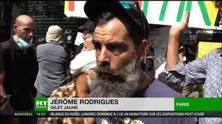 Jérôme Rodrigues sur le pass sanitaire : «Ce n'est qu'une astreinte de plus. On continue le combat»