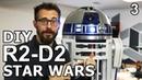 Делаем R2-D2. Часть 3. Купол, ноги, покраска. Звёздные Войны. DIY.