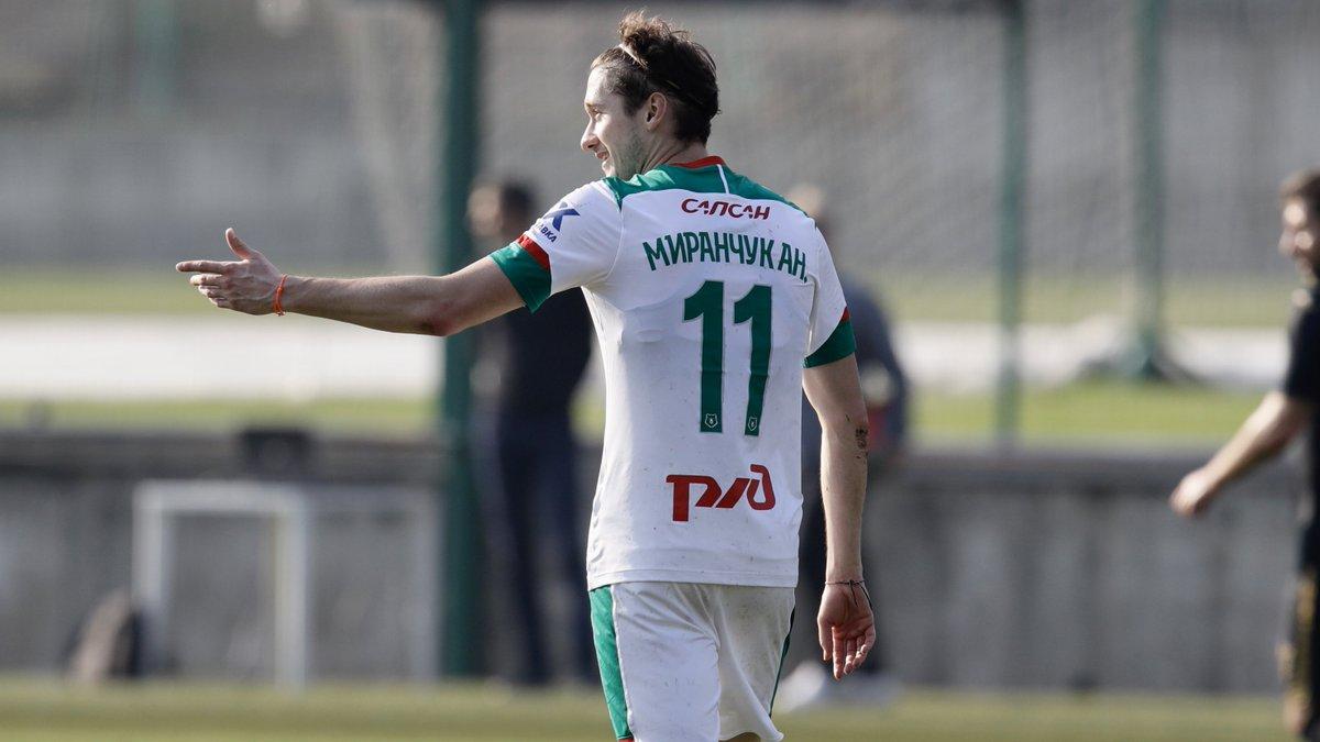Антон Миранчук. ФК Локомотив