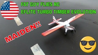 MAIDEN OF THE EFLITE TURBO TIMBER EVOLUTION BY FGFRC