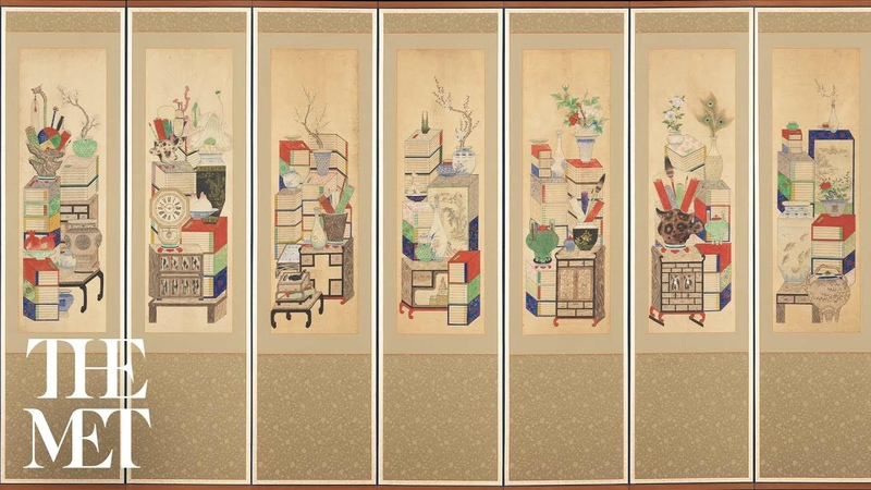 Picturing Possessions Korean Munbangdo Painting Insider Insights