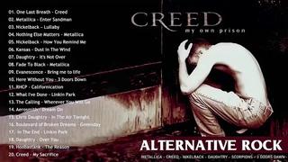 Nirvana, Metallica, 3 Doors Down, , Creed, RHCP Style 💗 Alternative Rock Complicaton