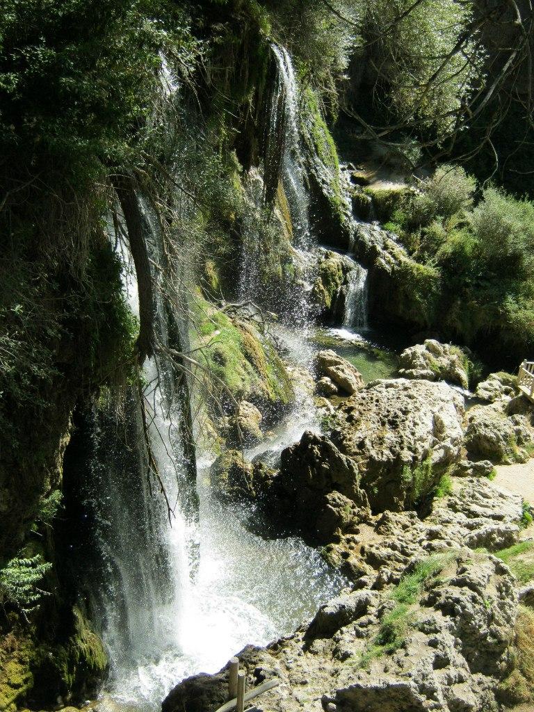 Водопад Сизир почти без воды