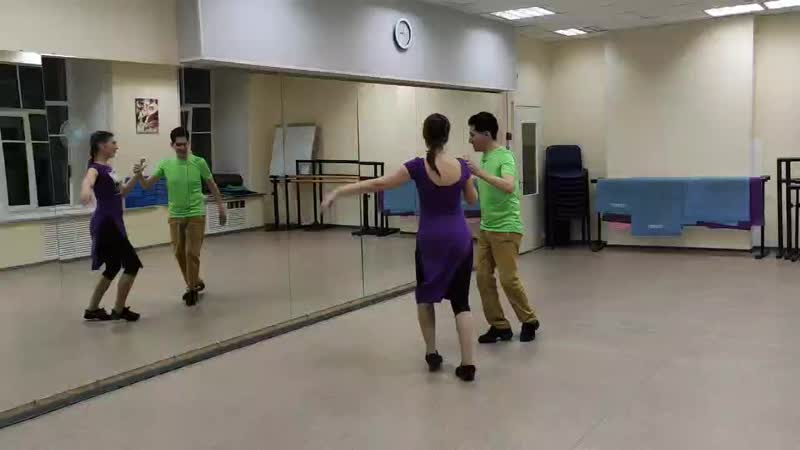 Карлос и Татьяна сальса в Salsa Viva 29 09 20