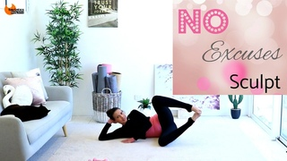 20 Minute Total Body Toning Workout - BARLATES BODY BLITZ No Excuses Sculpt