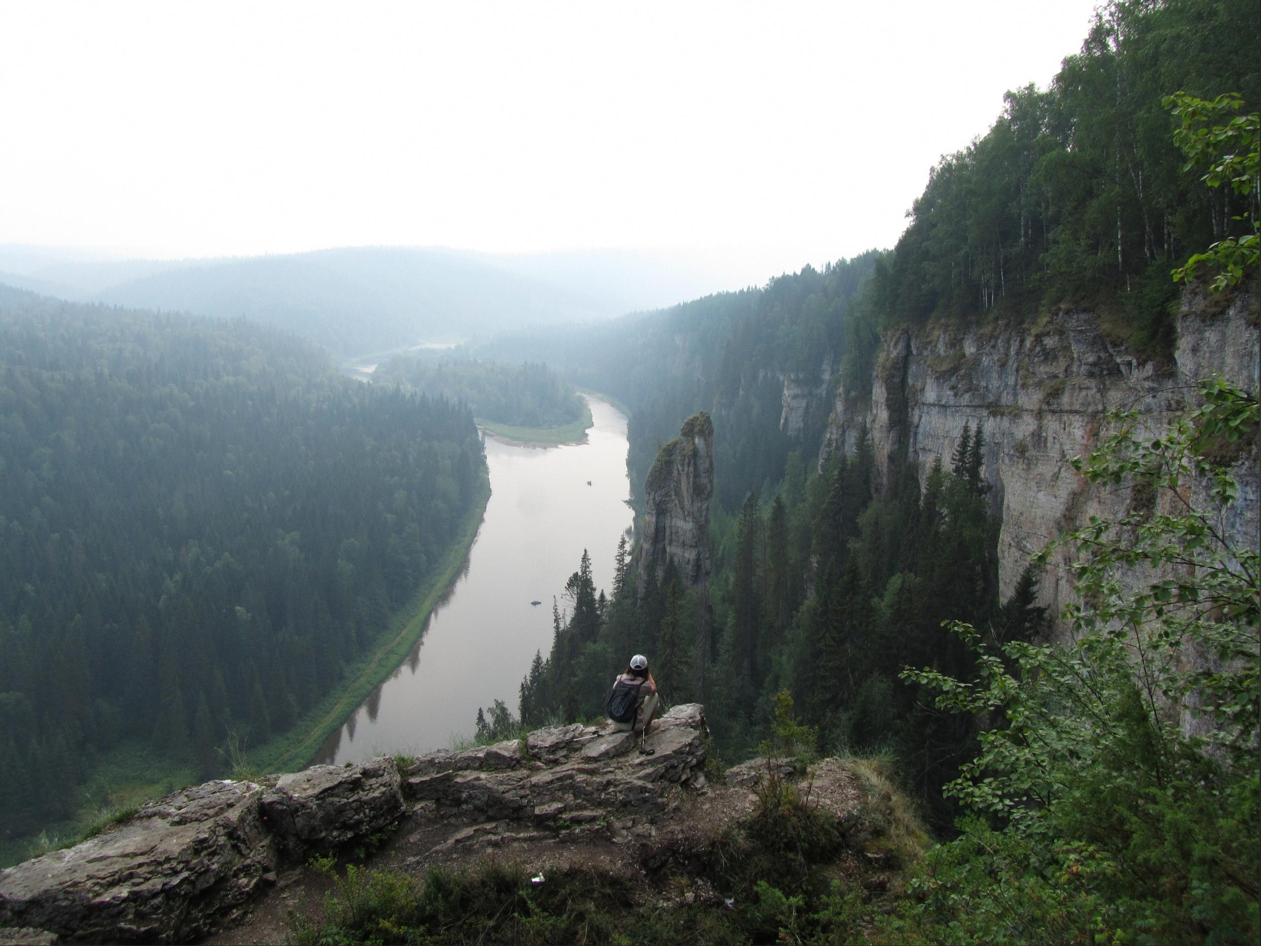 Река Усьва и Усьвинские столбы