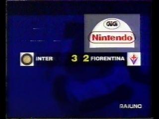 1997-98 (3a - 21-09-97) INTER-Fiorentina 3-2 [Ronaldo,,Batistuta,Moriero,Djorkaeff] Serv 90°