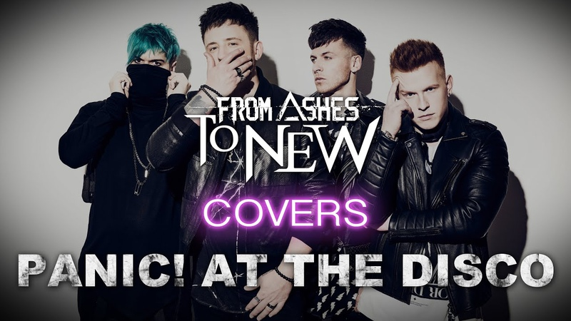 Panic At the Disco High Hopes From Ashes to New Quarantine Cover