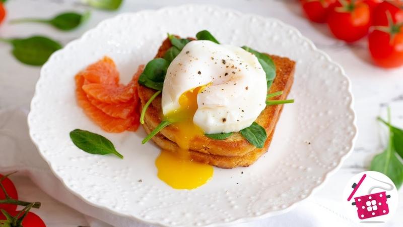 ✅ЯЙЦО ПАШОТ за 2 минуты БЫСТРЫЙ ЗАВТРАК на 8 Марта ❤️ ЛАЙФХАКИ СЕКРЕТЫ 100% Идеальные Яйца Пашот