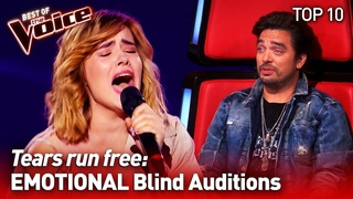 The most EMOTIONAL Blind Auditions on The Voice #2   TOP 10