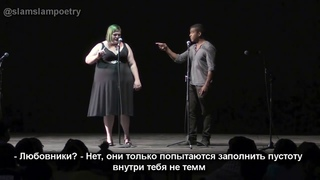 National Poetry Slam 2015 Group Piece Finals Austin Poetry Slam RUS SUB