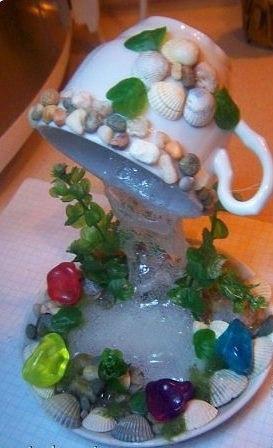 Водопадик из кружки