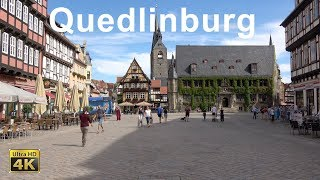 Quedlinburg im Nationalpark Harz in 4K