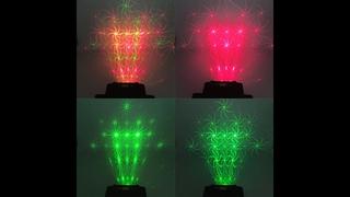 Лазерный мини прожектор ESHINY L20N7 с дистанционным управлением