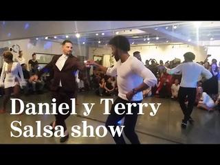 Daniel & Terry SalsAlianza, Desiree & Cecile salsa show at King&Queen salsa bachata dance festival