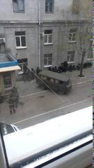 Славянск штурм горотдела 12 04 2014