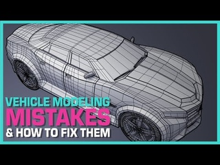 Maya Hard Surface Modeling: Common Maya Car Modeling Mistakes And How to Fix Them