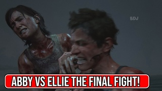 The LAST OF US 2 - Final fight between ELLIE vs Abby - This is the last encounter and the ending