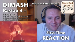 Classical Singer First Time Reaction- Dimash | Bastau 4. He's Quickly Growing as an Artist!!