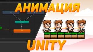Как сделать платформер на Unity #2 | Анимации и слежение камеры